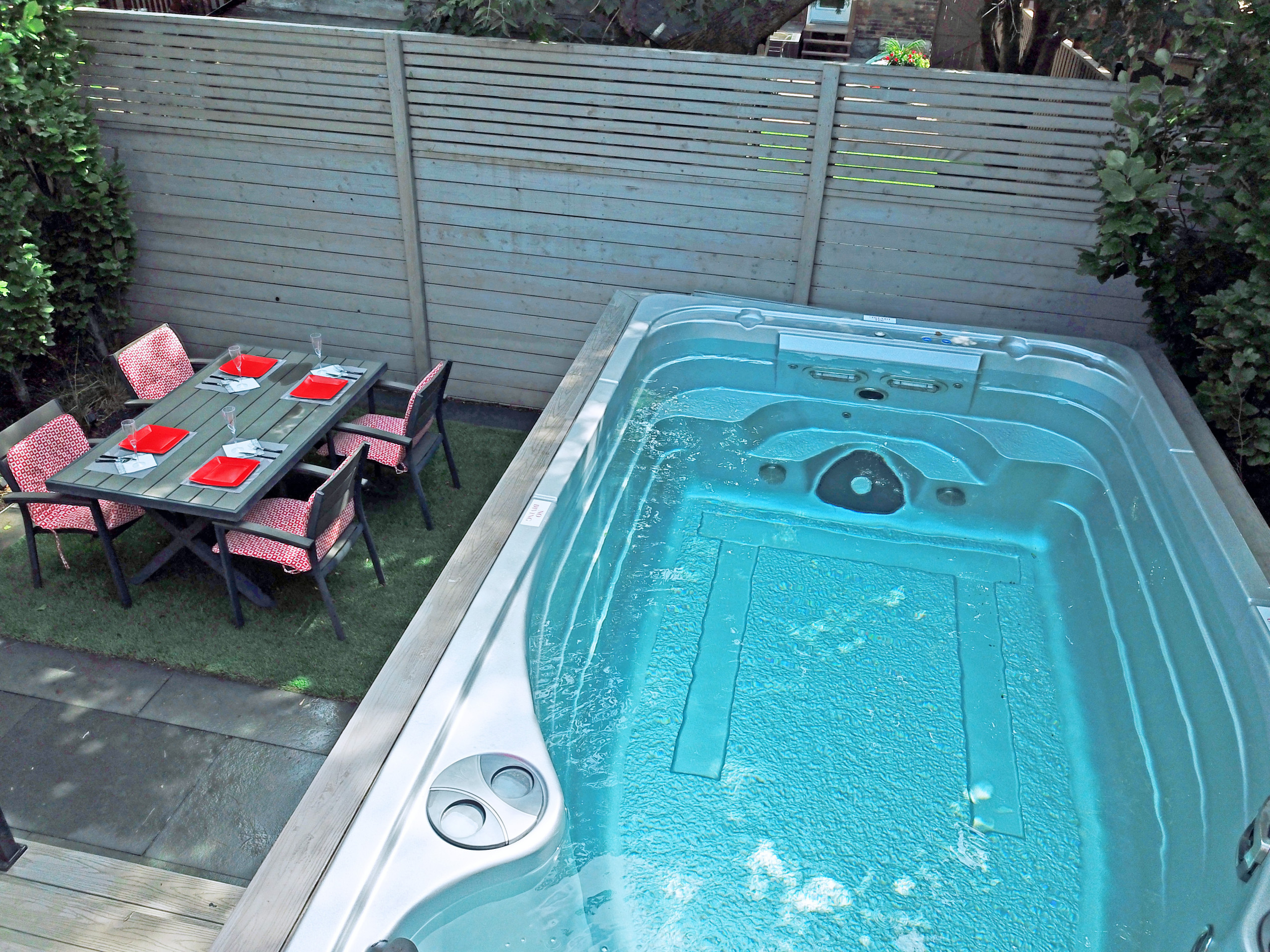 Danforth Modern Backyard Swim Spa