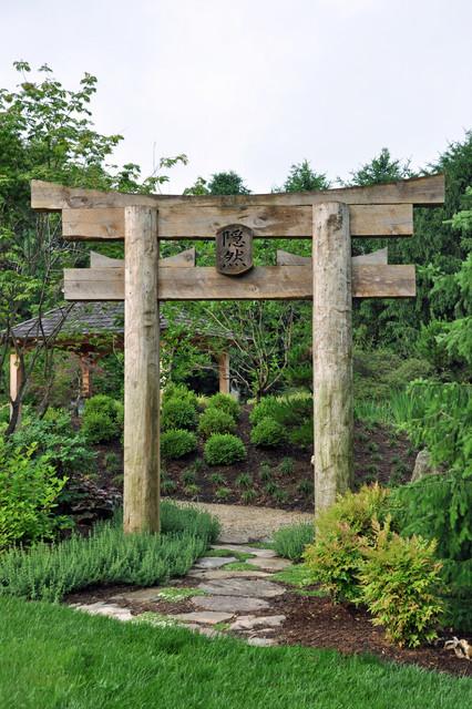Darnestown project asian landscape other metro by - Japanese garden gates ideas ...