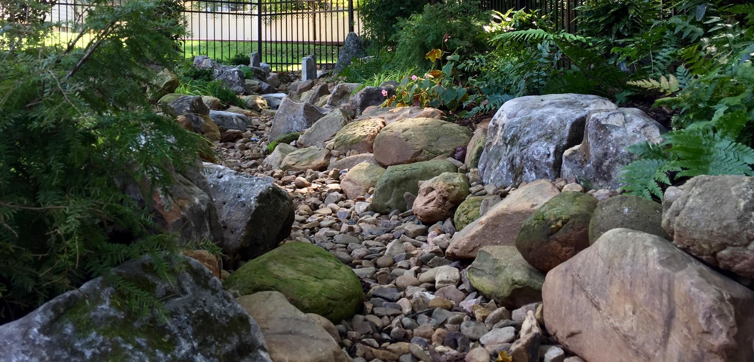 Davidson creek bed