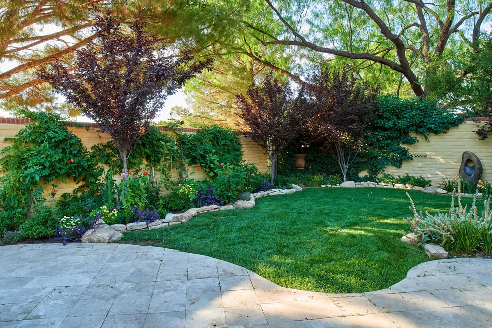 Photo of a mediterranean landscaping in Austin.