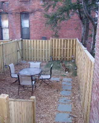 DC rowhouse before and after