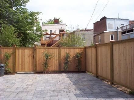 DC urban backyard