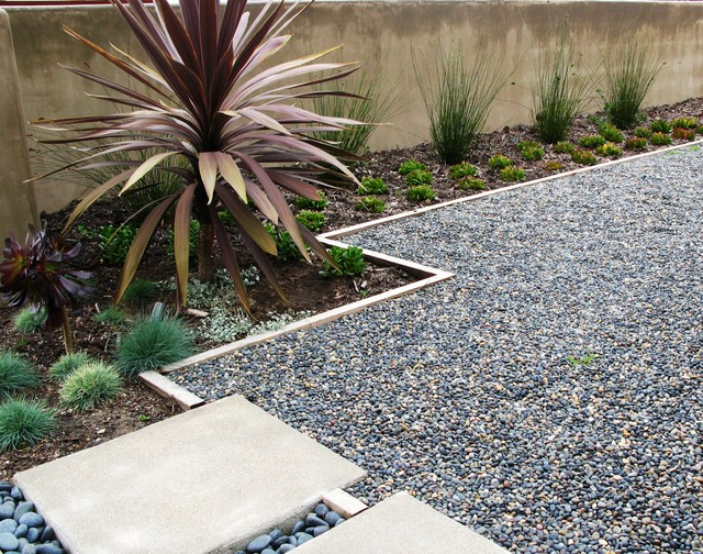 Give your garden design some textural bam with pebbles, granite ...