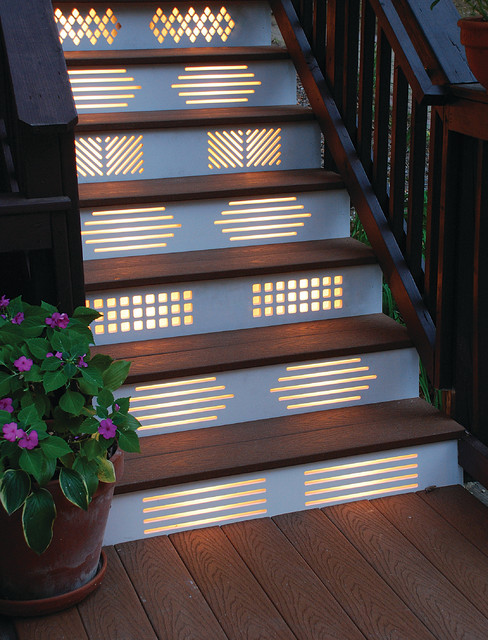 No Fall Guys Please Ideas for Lighting Your Outdoor Steps