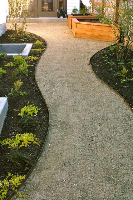 Decomposed Granite Paths Steel Edging Contemporary