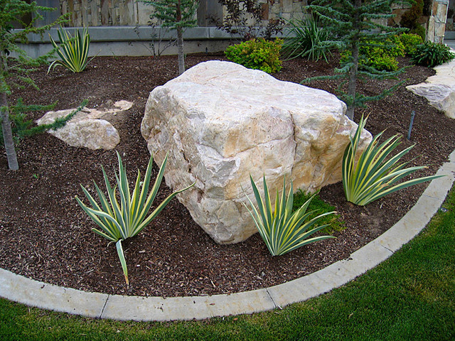 Decorative Boulders For Landscaping : Decorative boulders landscape