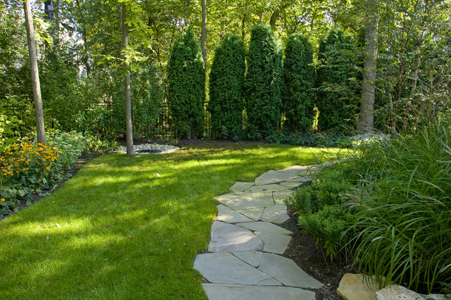 Deerfield residence landscape design traditional for Landscape design chicago