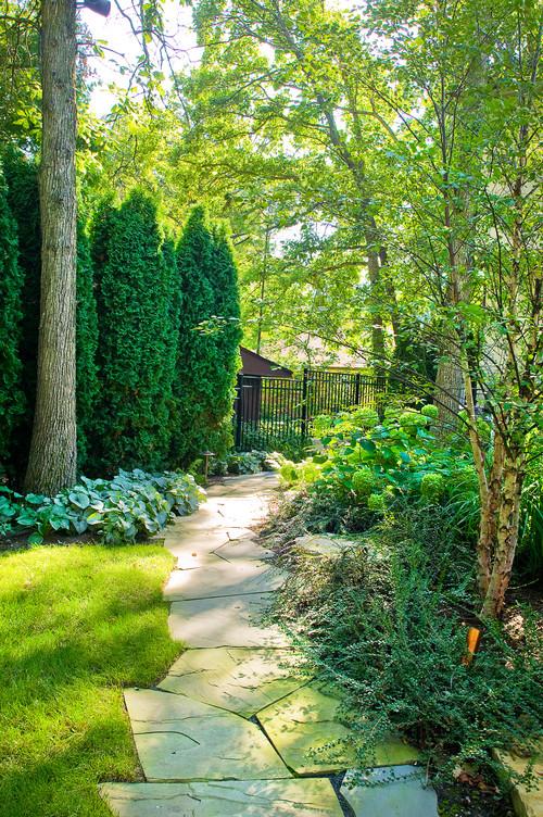 Deerfield Residence traditional landscape