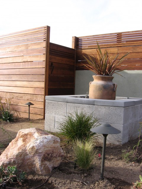 Del Mar Contemporary modern landscape