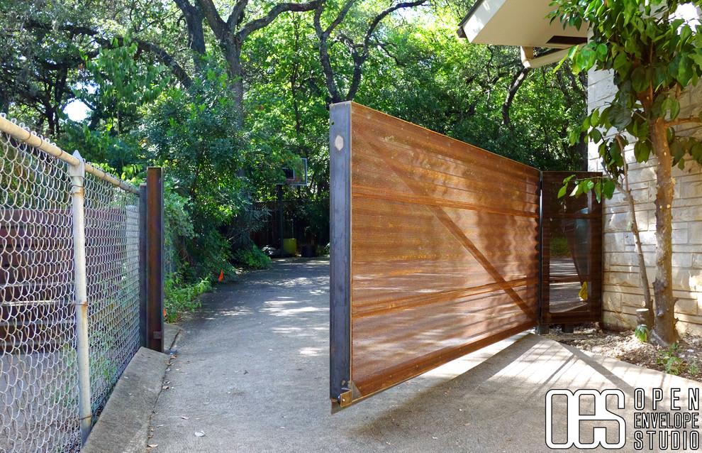 Denham Residence - Modern - Landscape - Austin - by Open