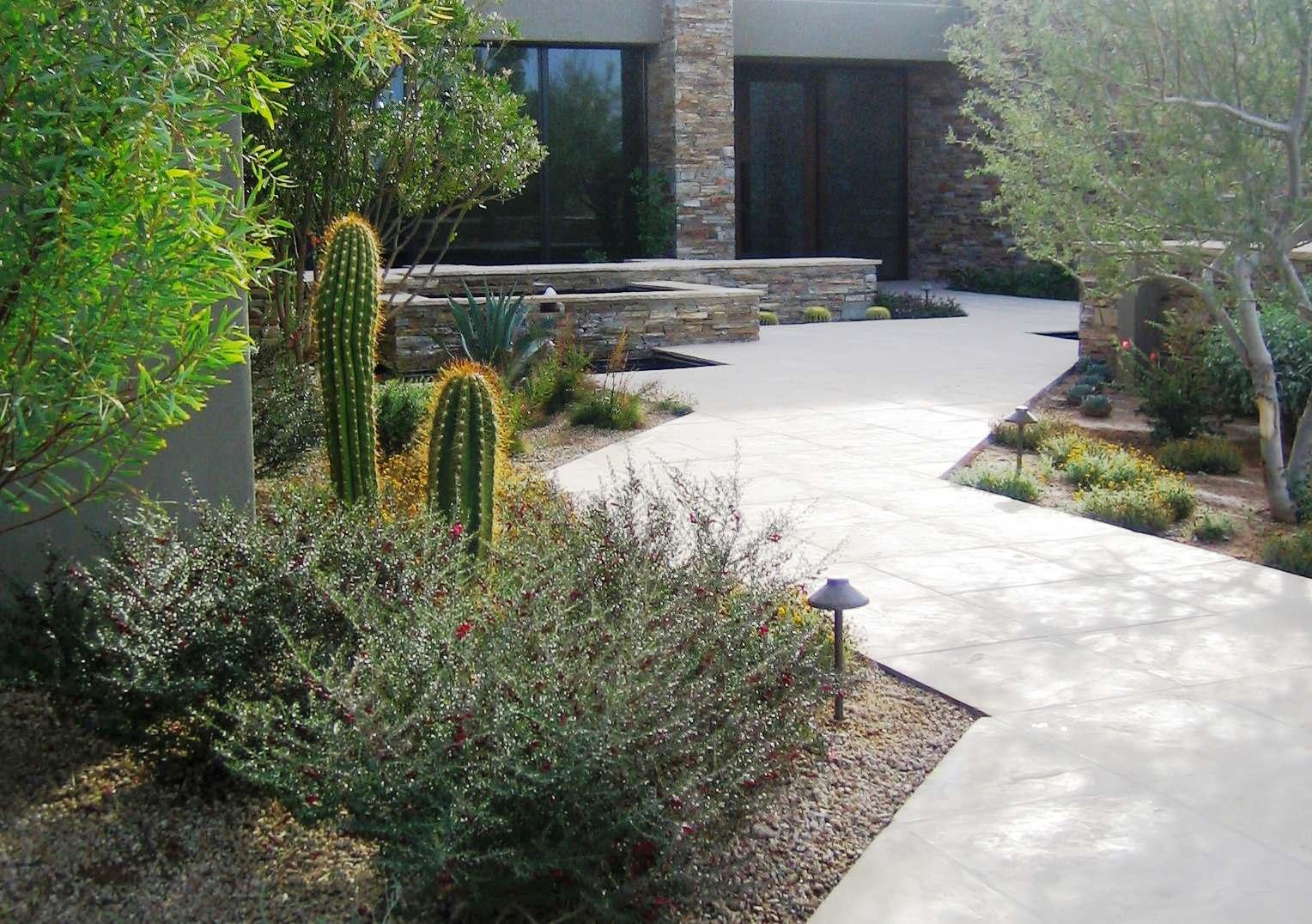 Desert Highlands II--Entry Landscape
