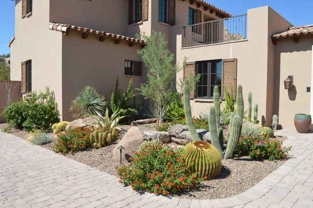 Desert Garden Design desert garden design on desert greenscapes artificial grass las vegas nevada blog Desert Highlands Southwestern Landscape