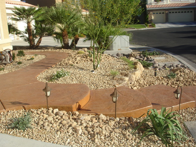 backyard desert landscaping ideas las vegas
