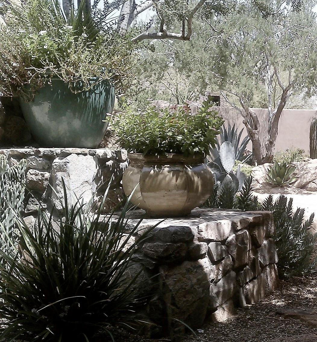 Desert Mountain--Decorative Pots