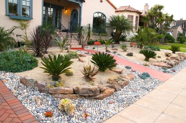Desert Scape Mediterranean Landscape San Diego By