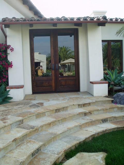Design Build: Del Mar Estate mediterranean-entry