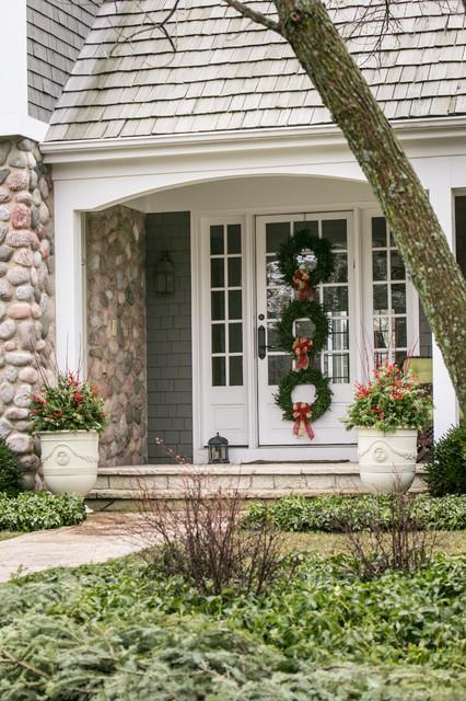 Design/ Build- House Proud transitional-landscape