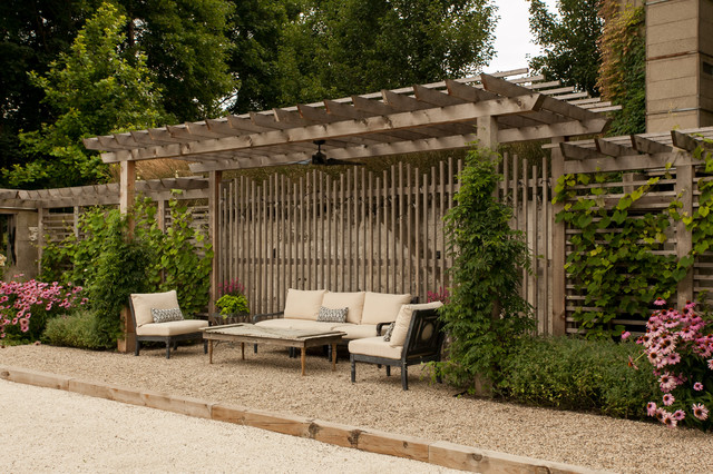 Design/ Build- Rustic Retreat rustic-landscape