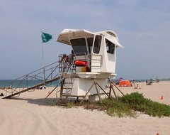 Vero Beach Florida - Aqua Cottage at South Beach beach-style-landscape