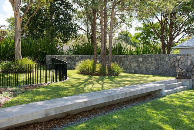 Diamond beach coastal garden contemporary landscape for Landscape design sydney