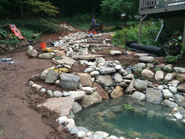 landscape drainage filter
