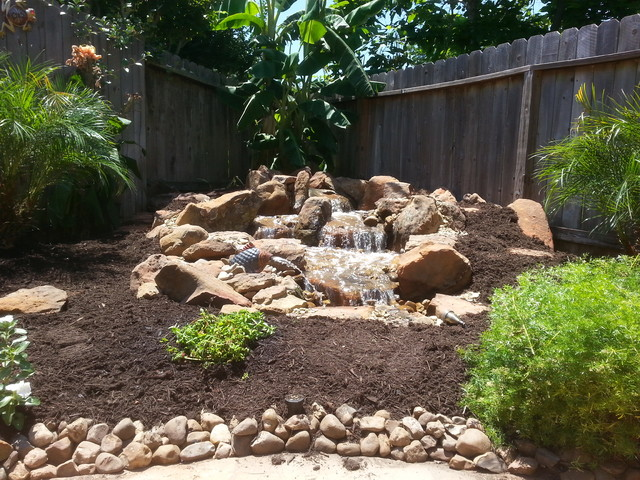 Disappearing Pondless Waterfall Ideas For Your Austin Central