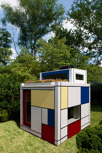 Discovery Pod Playhouse - Modern - Kids - other metro - by Barnes Vanze Architects, Inc