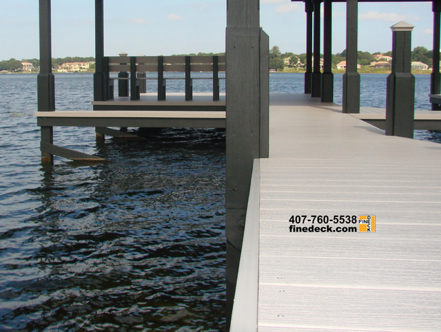 Dock at Lake Down, Windermere FL traditional-landscape