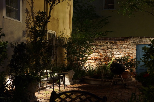 Downtown Garden traditional-landscape