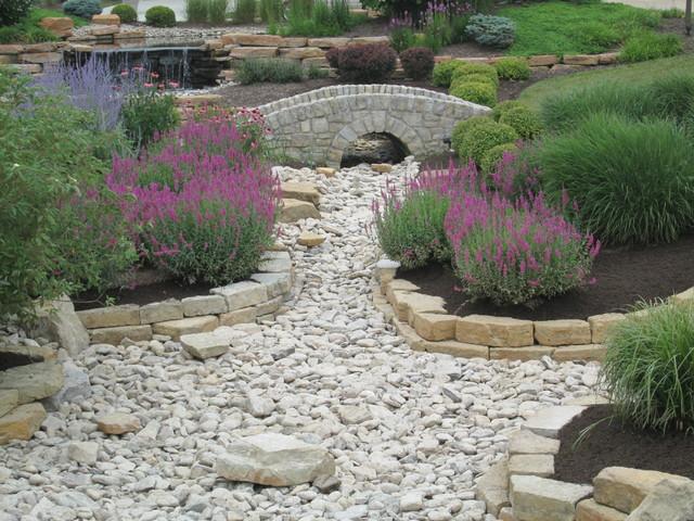 Hyde park landscape tree service landscape contractors - Drainage Solutions Traditional Landscape Cincinnati
