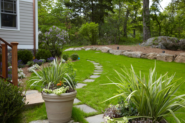 Dream home container plantings armonk ny eclectic for Westover landscape design