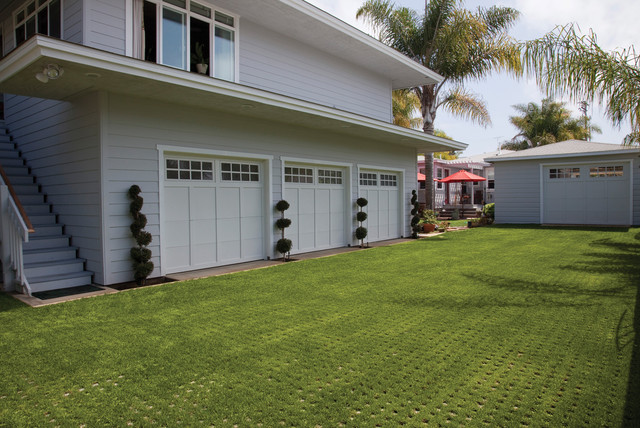 Drivable Grass 174 For Green Driveways With Permeable Pavers