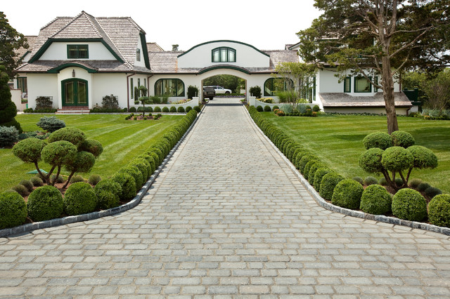 Driveways traditional landscape philadelphia by for Garden driveways designs
