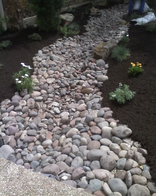 Dry Creek Bed Traditional Landscape Austin By Lawn