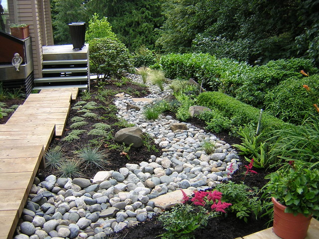 dry creek garden asian landscape vancouver by garden culture victoria. Black Bedroom Furniture Sets. Home Design Ideas