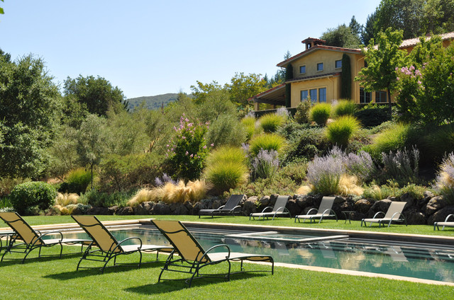 Dry Creek Valley Home - A Pool For Sharing - Mediterranean ...