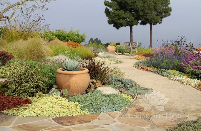 Dry garden palos verdes ca contemporary garden los for Garden design los angeles
