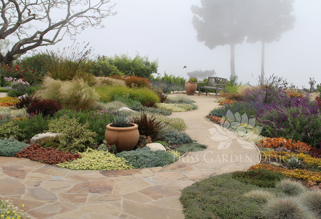 Dry Garden Palos Verdes Ca Contemporary Landscape Los Angeles By Bliss Garden Design