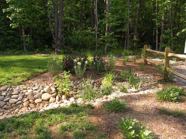 Dry streams rain gardens and bog gardens eclectic