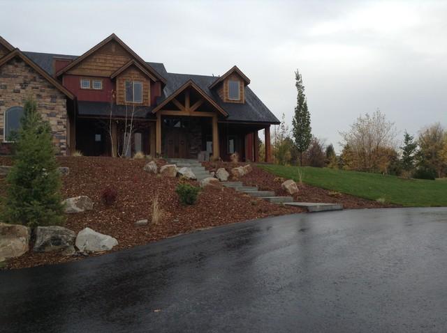 Eagle, Idaho Rejuvenation Project rustic-landscape