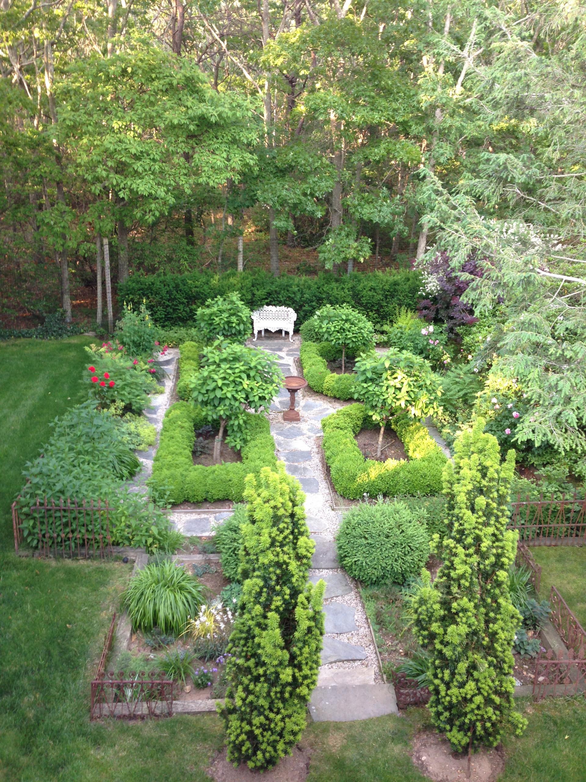 East Hampton Formal Garden