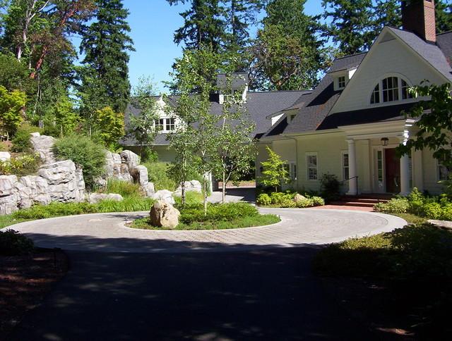 East Lake Sammamish Garden eclectic-landscape