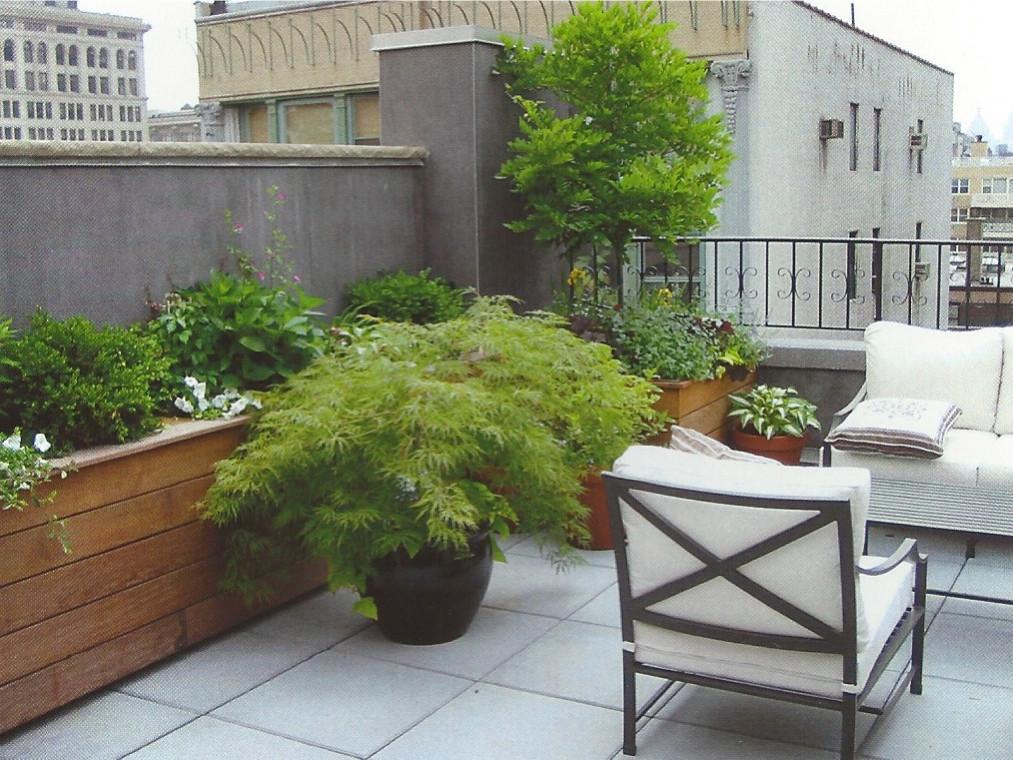 East Village Rooftop Terrace