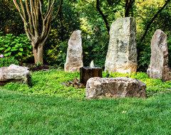 Eclectic Backyard Garden eclectic-landscape