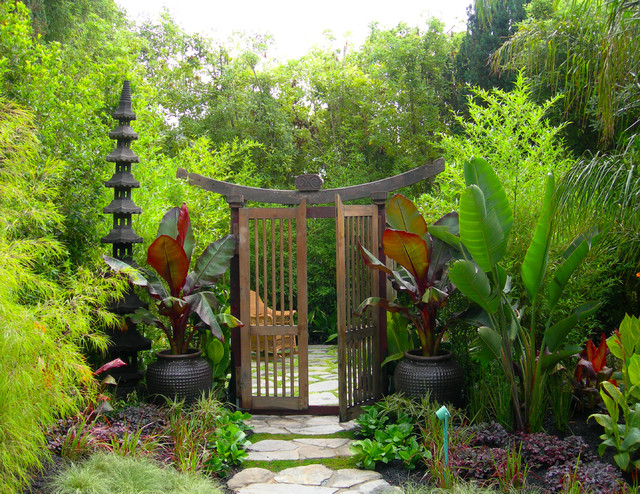 Eclectic Estate asian-landscape