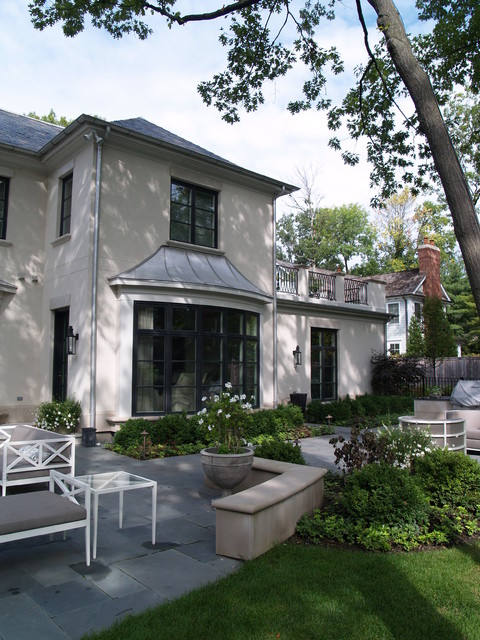 Private Winnetka Residence eclectic landscape