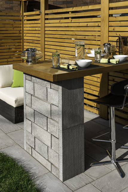 Cran Intimit Privacy Screen Contemporary Landscape Montreal By Element Paysage