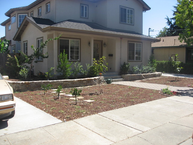 Edible Front Yard Contemporary Landscape other metro