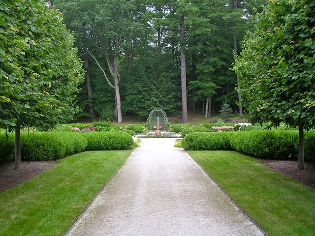 Edith Wharton's The Mount Gardens and Grounds traditional-landscape