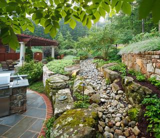 Elegance in design traditional landscape dc metro for Garden design back issues